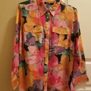 Lauren Ralph Lauren - Women's Plus Size Shirt